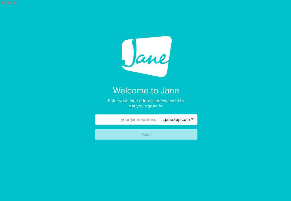 Jane Desktop