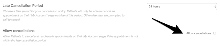 Cancellation Policy | Jane App - Practice Management